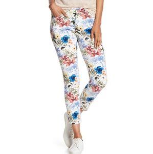 Tommy Bahama Eros Botanical Skinny Ankle Jeans